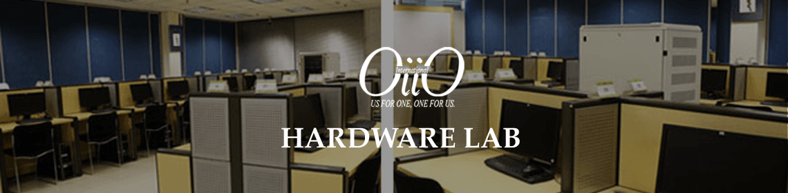 Hardware lab - nicely decorated high quality assemble environment