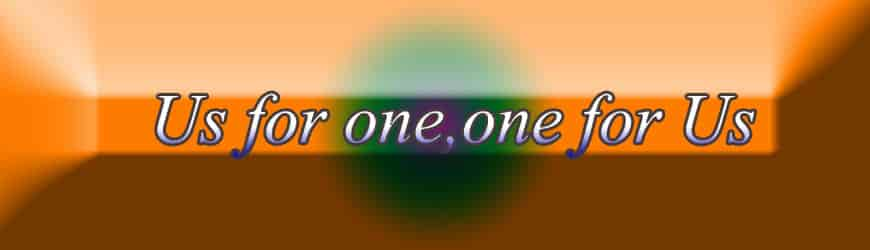 OiiO Official slogan - Us for one, one for us