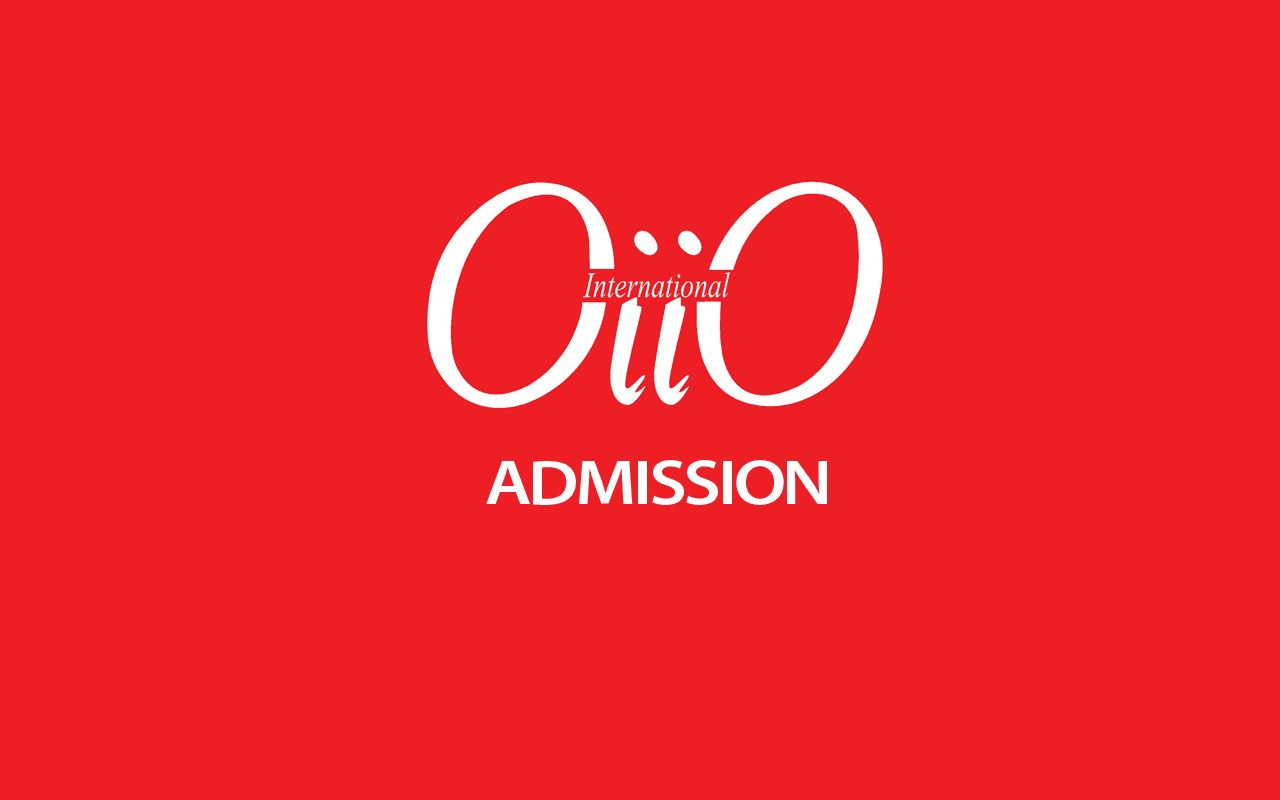 Official logo of OiiO Admission